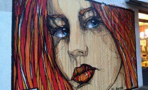 El Bocho Graffiti Mural Berlin Prenzlauerberg
