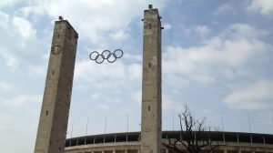 Olympic Rings at Olympic Stadium Berlin
